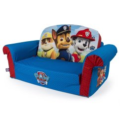 Flip Open Sofa Chair Sealy Leather Suppliers Marshmallow Furniture Children S 2 In 1 Foam Nickelodeon Paw Patrol By Spin Master