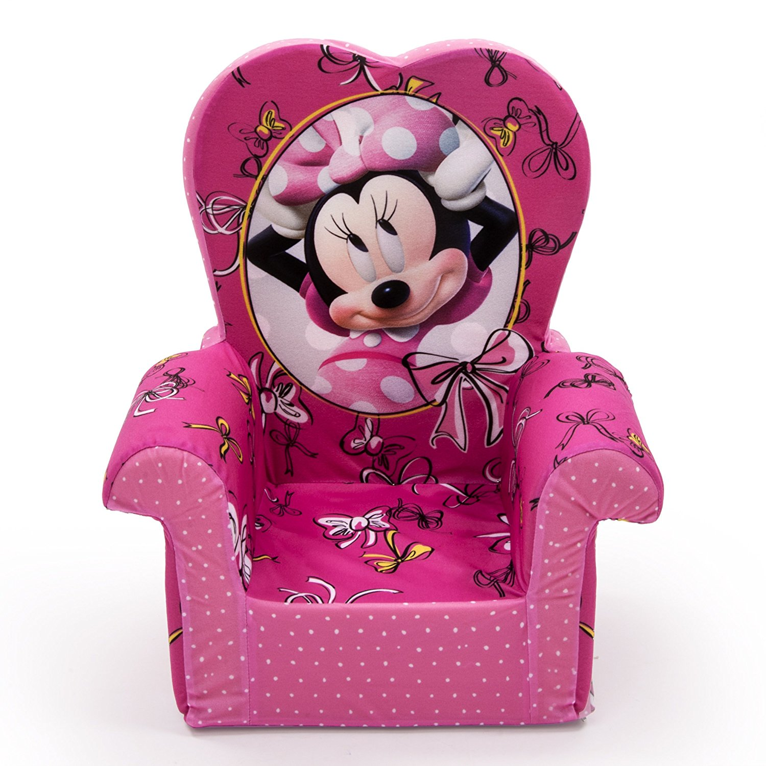 minnie mouse recliner chair best power chairs canada marshmallow furniture childrens foam high back