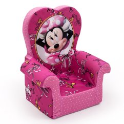 Minnie Mouse Recliner Chair Used Barber Chairs For Sale Marshmallow Furniture Childrens Foam High Back
