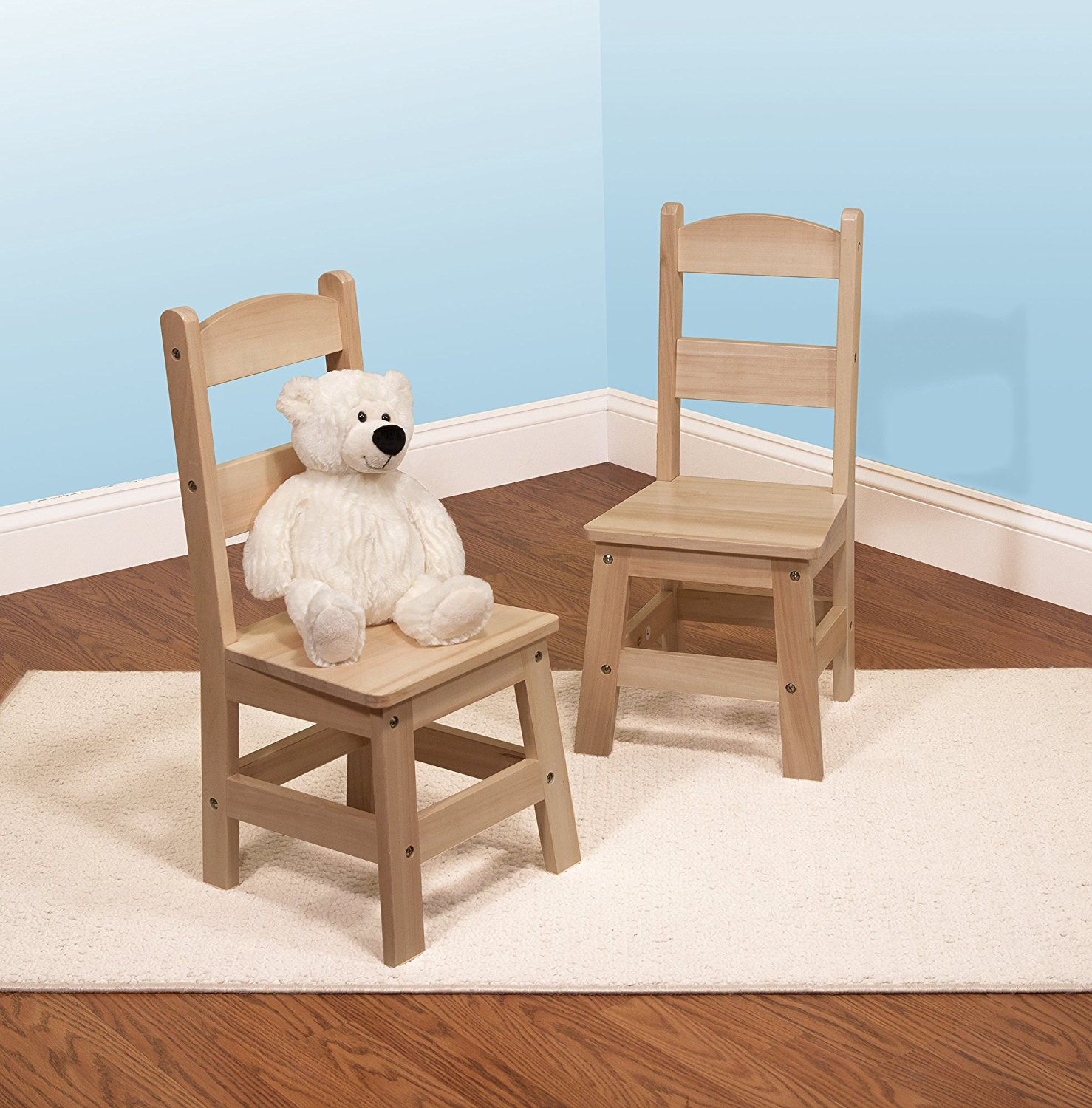 Melissa And Doug Table And Chairs Melissa And Doug Solid Wood Chairs Set Of 2 Light Finish