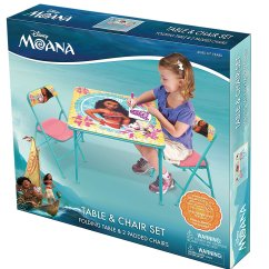 Plastic Table And Chair Set Covers Hire Cape Town Moana Disney Activity Playset – Party Supply Factory