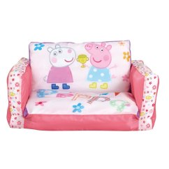 Toddler Flip Sofa Cover Art Gallery Mcalester Peppa Pig  Inflatable Chair For Kids With Removable