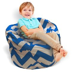 Children S Stuffed Animal Chairs Chair Covers For Hire In Durban Storage Bean Bag  2 1