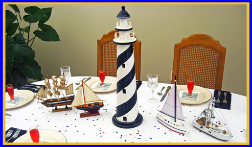 Rustic Or Refined Nautical Centerpieces