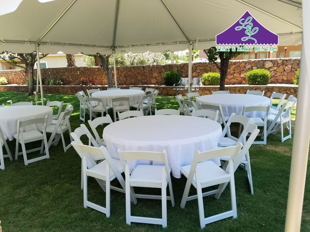 Chairs And Table Rental Tables And Chair Rentals El Paso Tx Tents And Events El