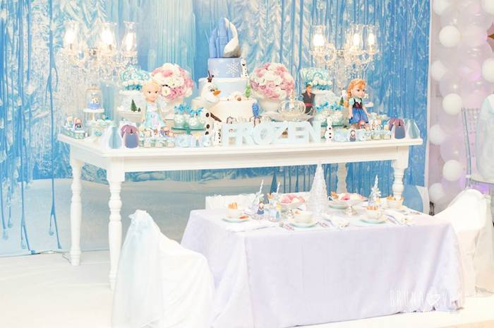 Pretty party tables  PARTY THINGS