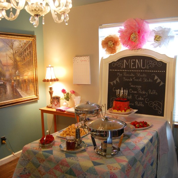 Breakfast at Lucy's {10th Birthday Party}