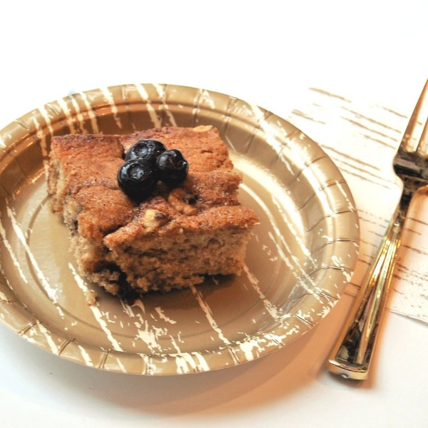 Blueberry Overnight Coffee Cake