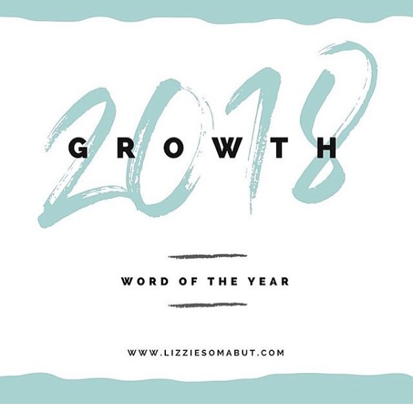A year of GROWTH (word of the year)