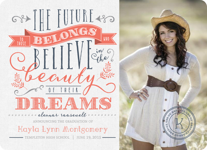 Clever Graduation Party Invitations