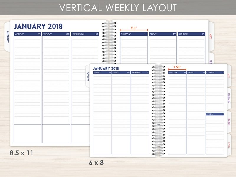 vertical layout planner