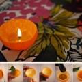 Diy orange candle photo courtesy of scraphacker com