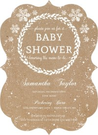 Winter Baby Shower Ideas: Invitations, Decorations, & More