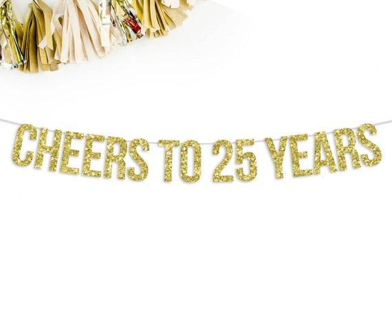 25th birthday ideas 25 ways to