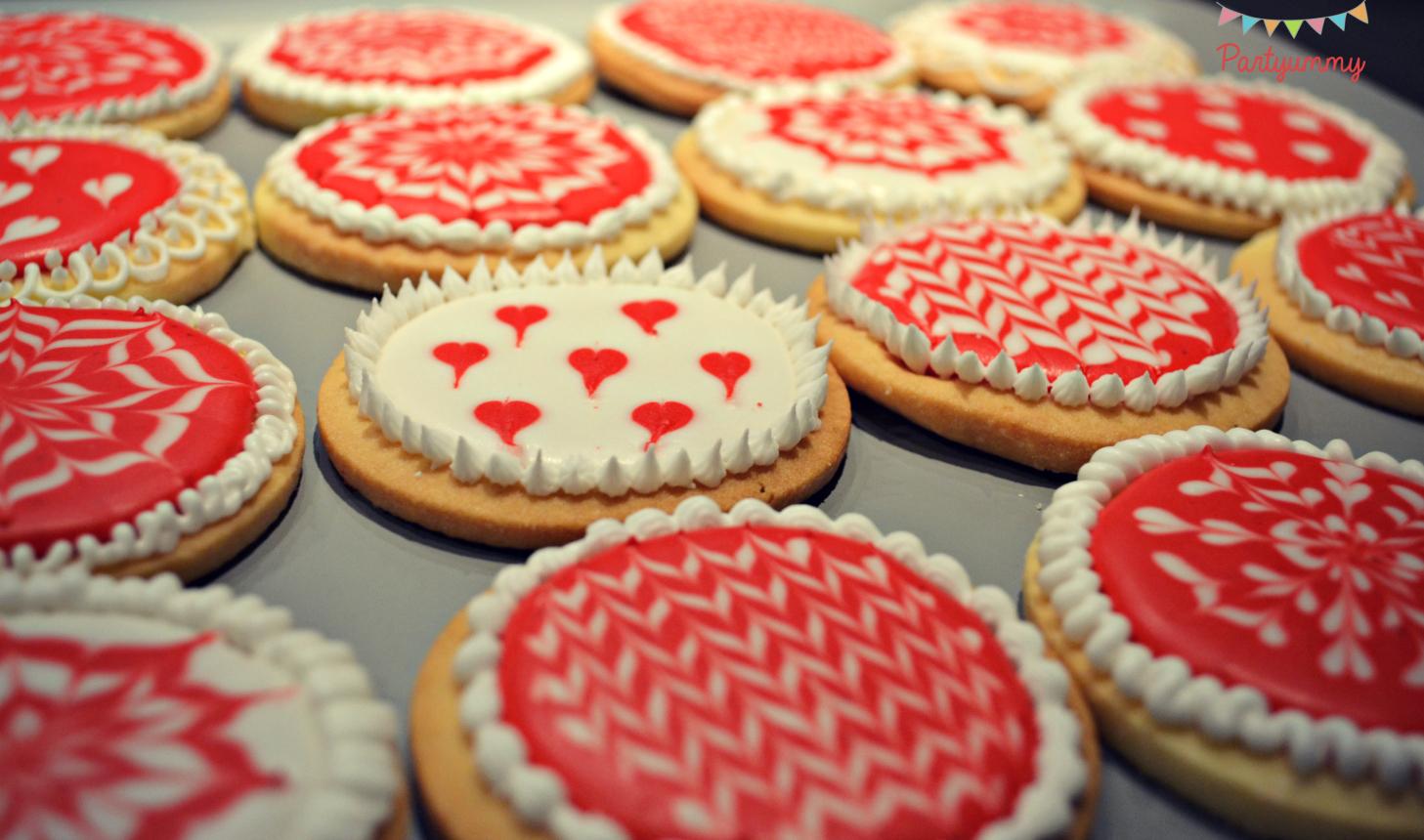Biscuits De Nol Dcors Avec Du Glacage Royal