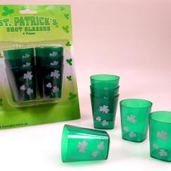 Chair Cover Hire Christchurch Oak High Tray St Patricks Day Shot Glasses Partyshop Co Nz
