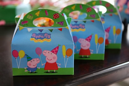 Lunch boxes for every kid, with Peppa Pig and George