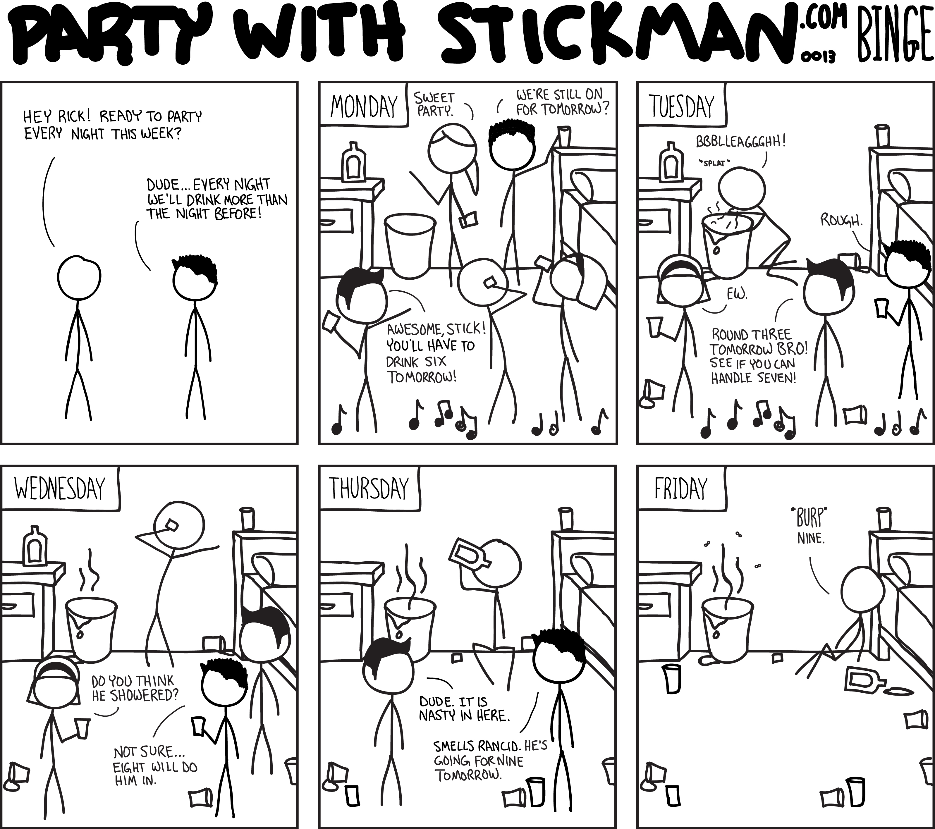 Party With Stickman