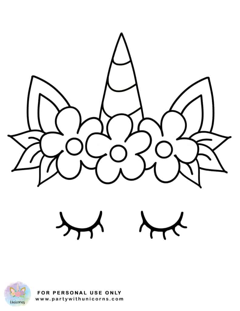 Cute Easy Unicorn Coloring Pages : unicorn, coloring, pages, Unicorn, Coloring, Pages