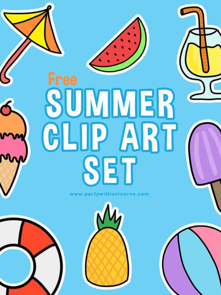 Free Clip Art Summer Fun : summer, Summer, Download