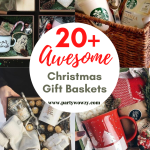 Awesome Diy Christmas Gift Baskets For Women Party Wowzy