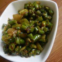 फ्रेंच बीन्स की सब्जी बनाने की विधि/ रेसिपी French beans sabzi recipe/ Vidhi