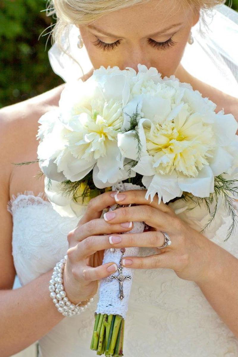 Nicole_Bridal Crystal and Pearl Bracelet