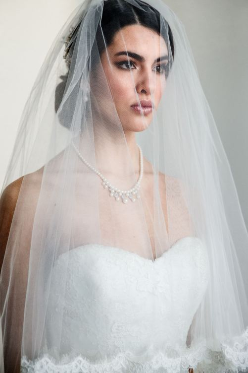 Rachel_Regal Bridal Necklace with Pearls and Crystals