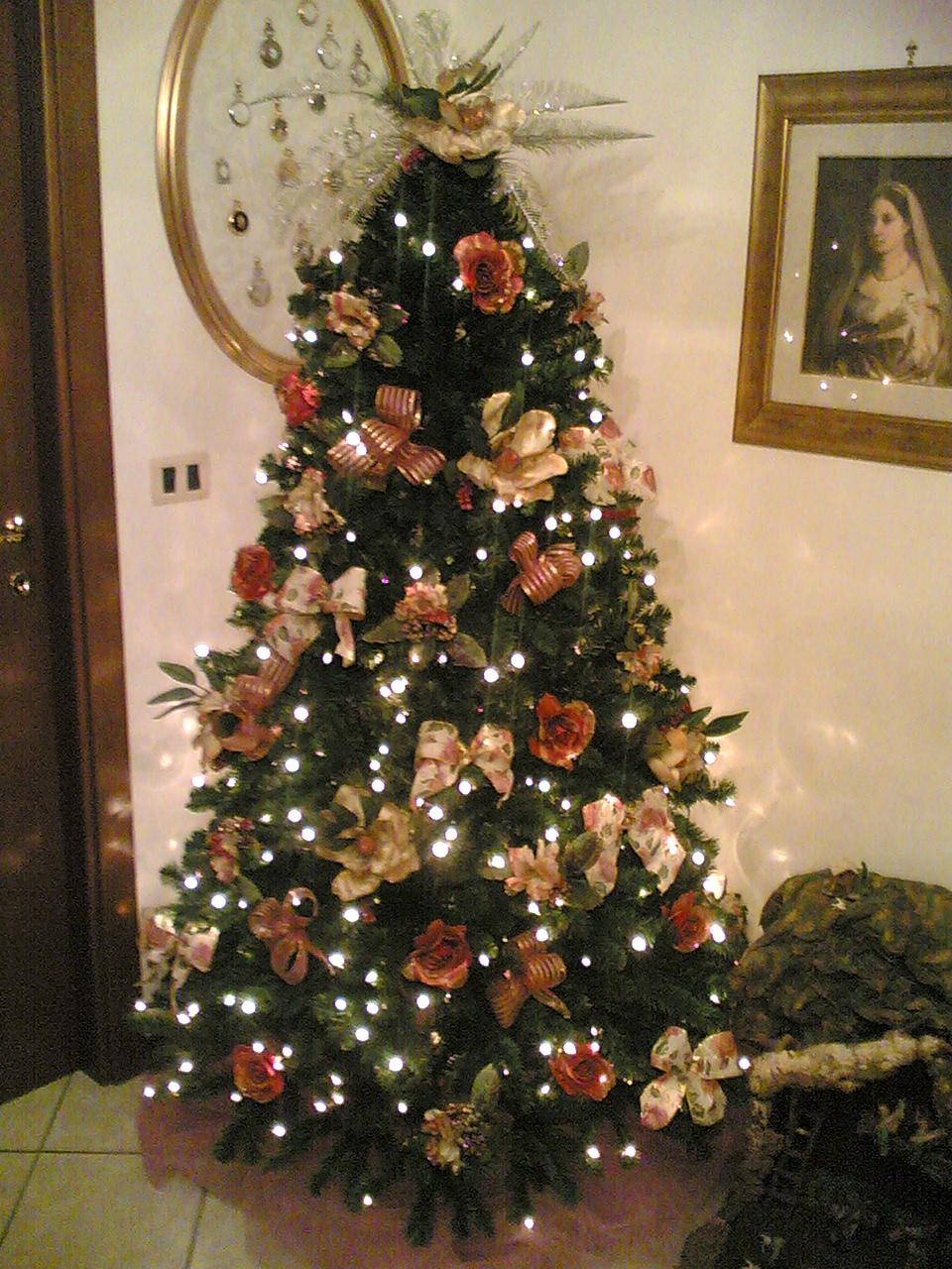 magnolie sullalbero di Natale  Parvafavillas Weblog