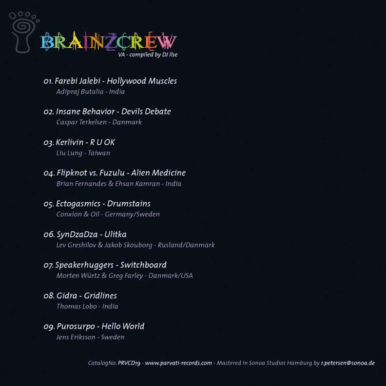 va - Brainzcrew - prvcd19 - back cover