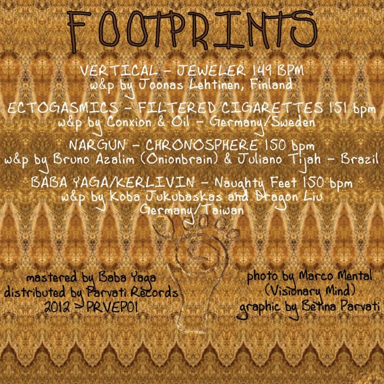 va - Footprints - prvep01 - back cover