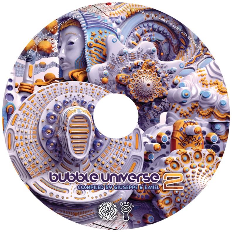 va - Bubble Universe 2 - prvsangcd02 - CD image