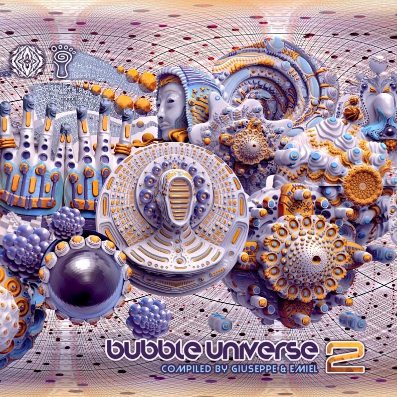va - Bubble Universe 2 - prvsangcd02 - front cover