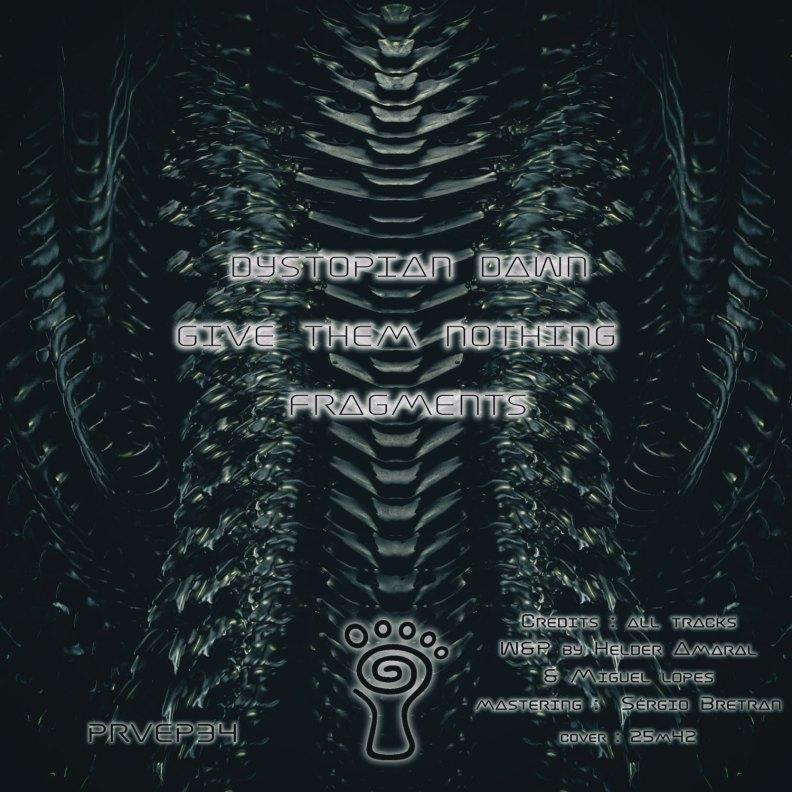 Lurker & N3xu5 - Dystopian Dawn - prvep34 - back cover
