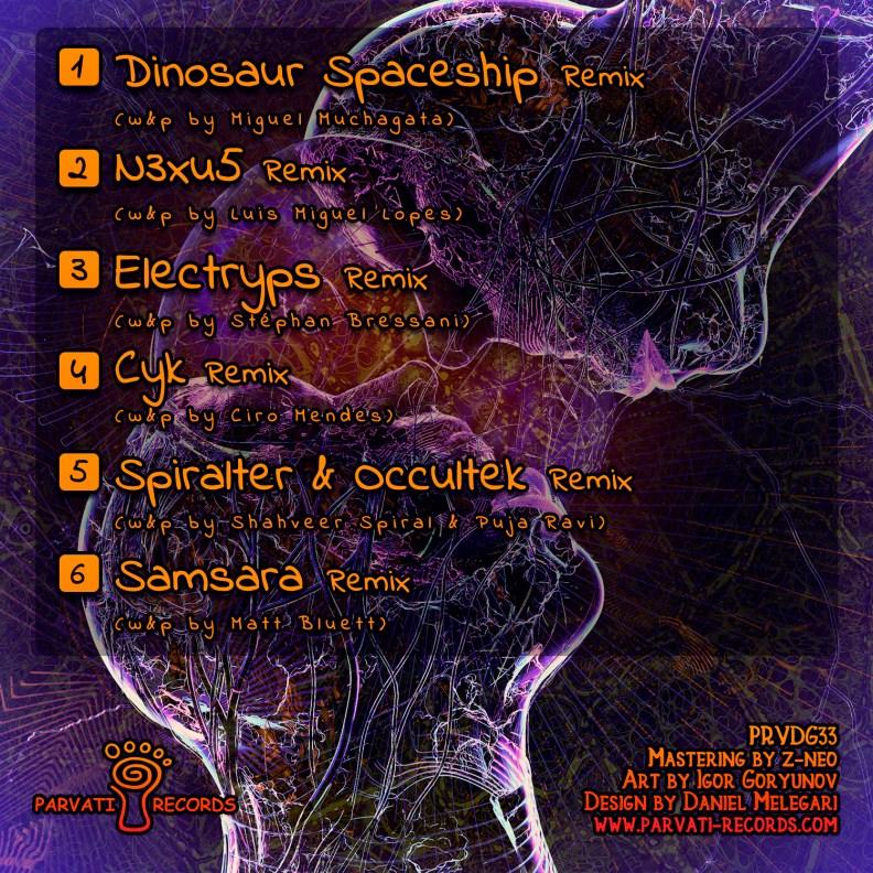 Love & Understanding Remixes - prvdg33 - front cover