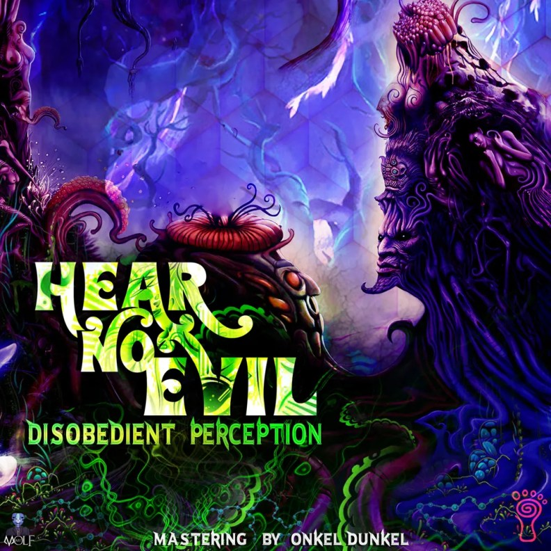 Disobedient Perception - Hear No Evil - prvep37 - front cover