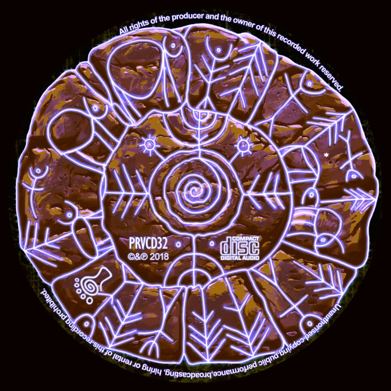 Archaic - Mountain Powers - prvcd32 - CD image
