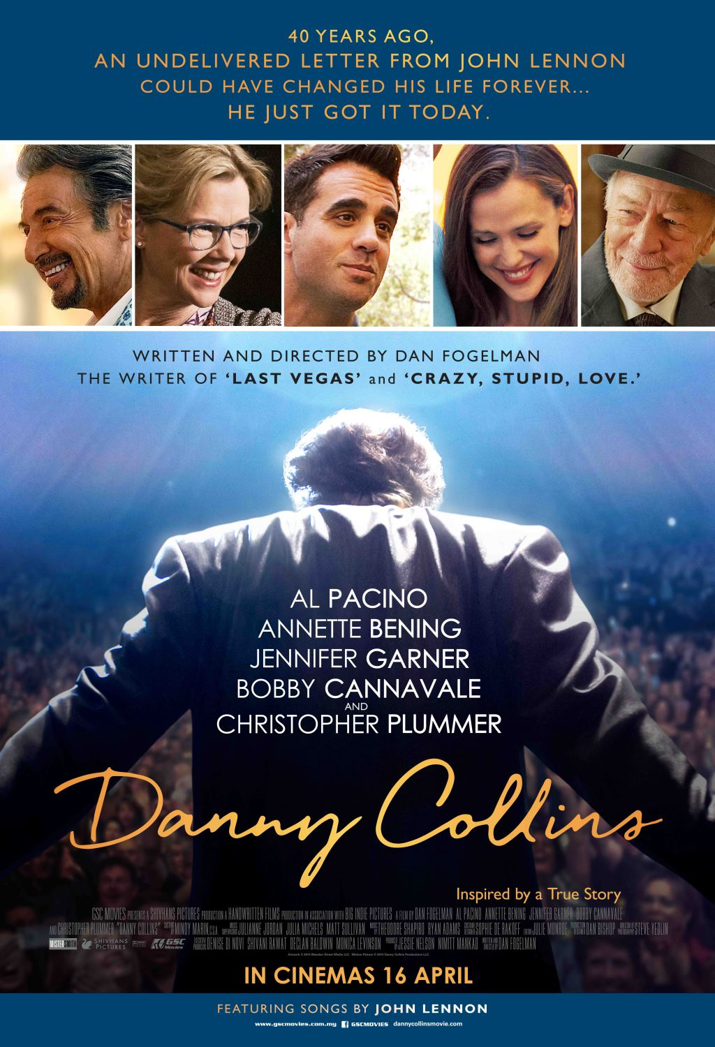 Film Danny Collins as reviewed by Lizzie Shanks