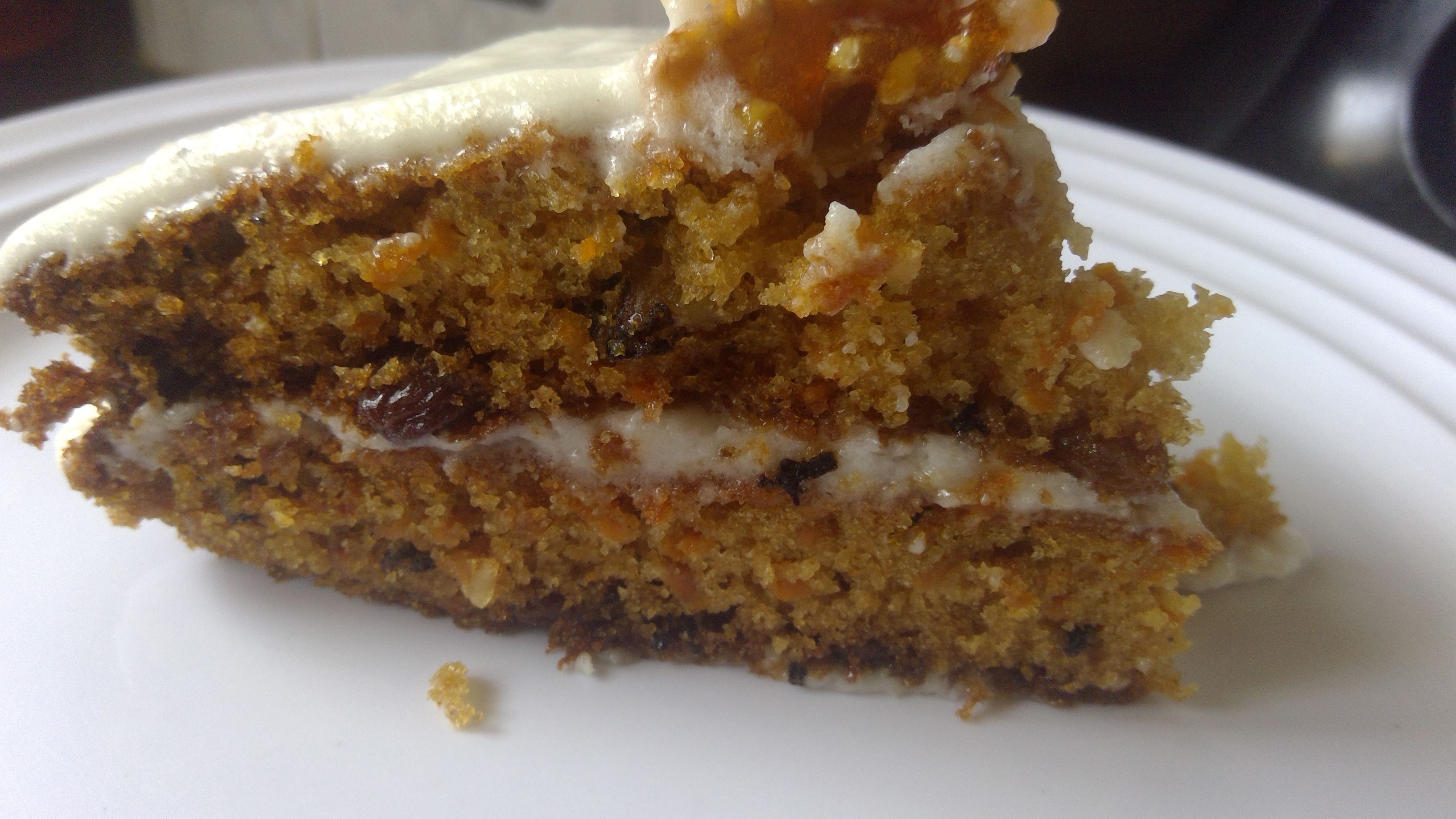 Best Ever Loaded Carrot cake with Cardamom cream cheese frosting