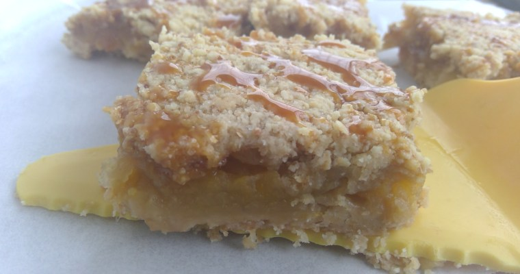 Apple and Pumpkin Pie Crumble Bars