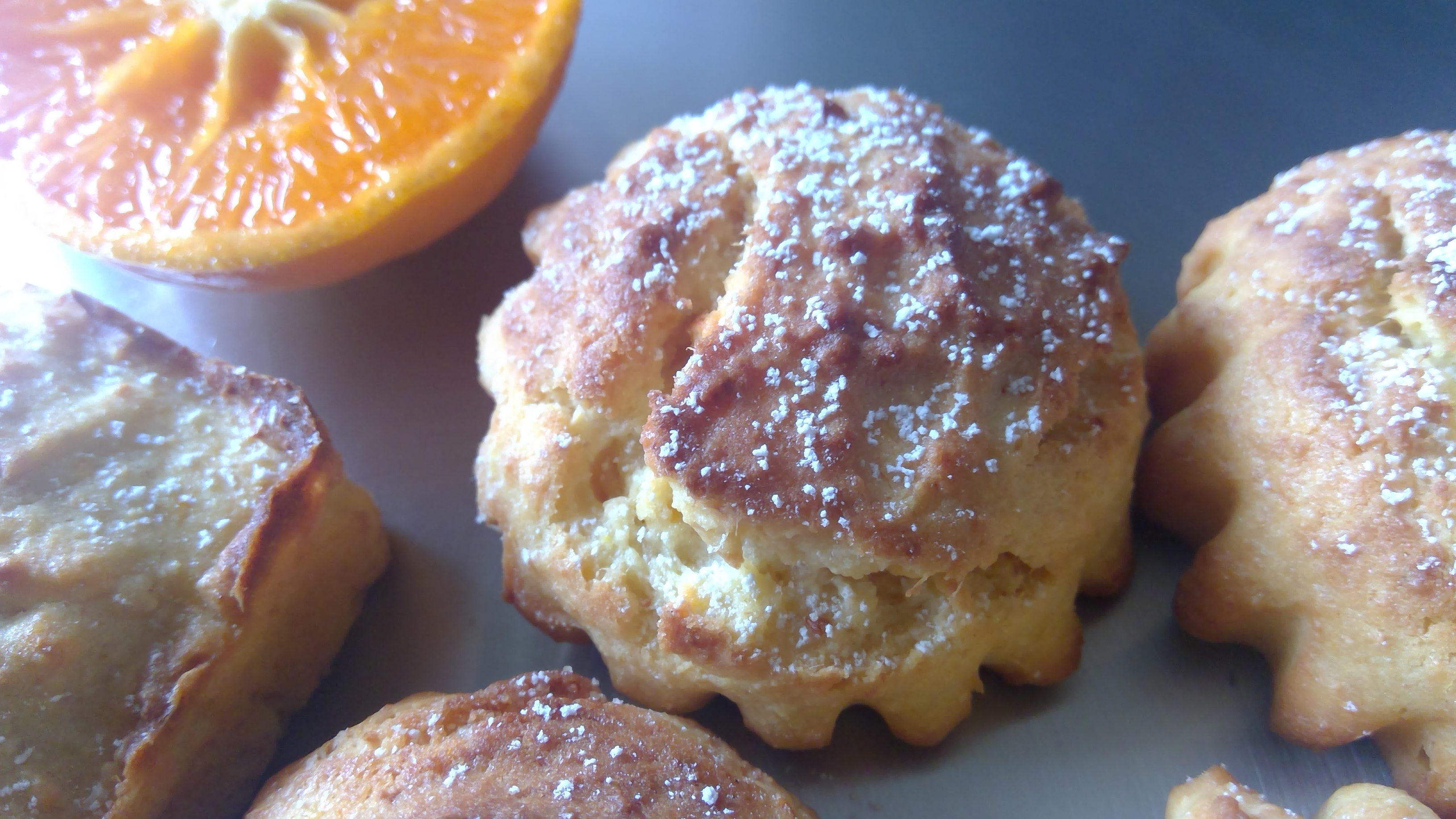 Orange ricotta Cakes/Muffins