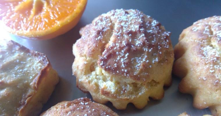 Orange ricotta cakes