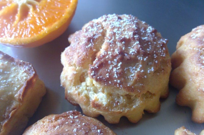 Orange ricotta Muffins