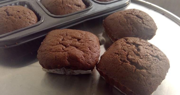 One bowl, 3 steps brownie cakes