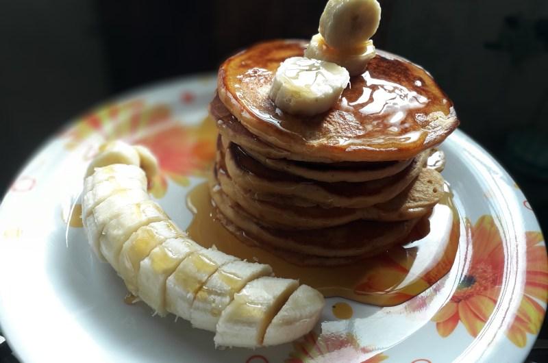 Easy Pancakes - Homemade pancake mix recipe