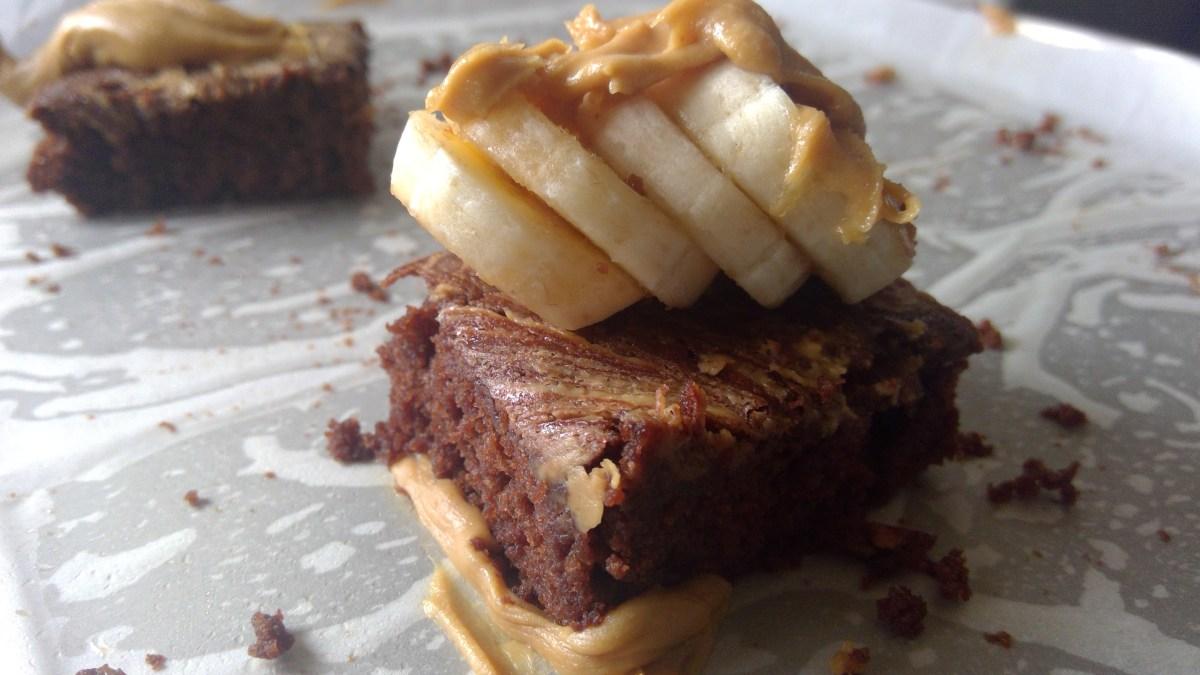 https://parveenskitchen.com/banana-peanut-butter-brownies