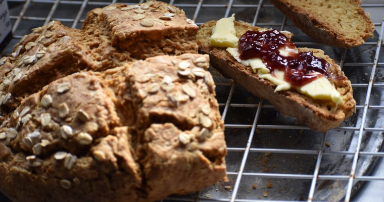 Super Easy Vegan Irish Soda Bread