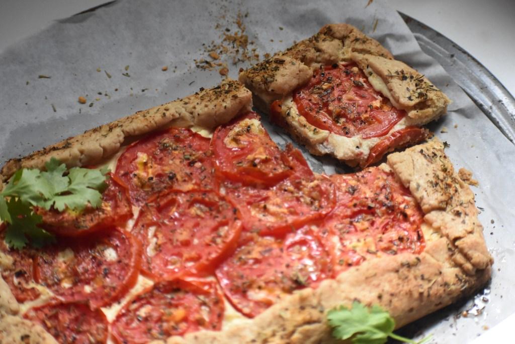 Whipped Ricotta Tomato Tart - Parveenskitchen.com