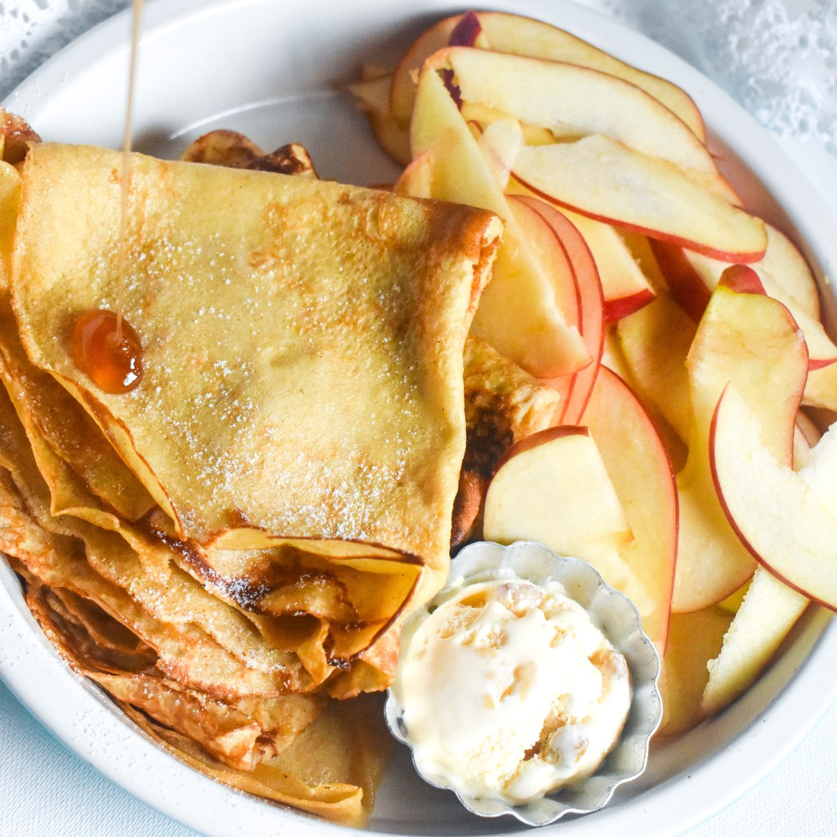 Homemade Crepes Recipe - Parveenskitchen.com
