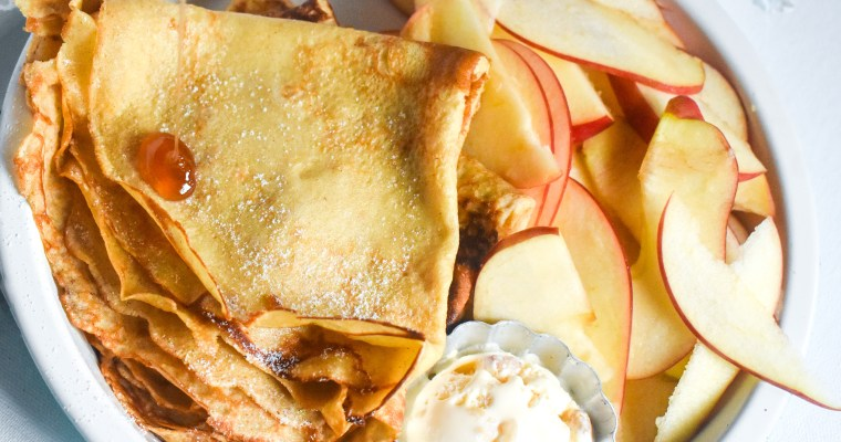 Simple Homemade Crepes Recipe